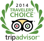Abuela's Beach House , 2014 traveler's choice by TripAdvisor